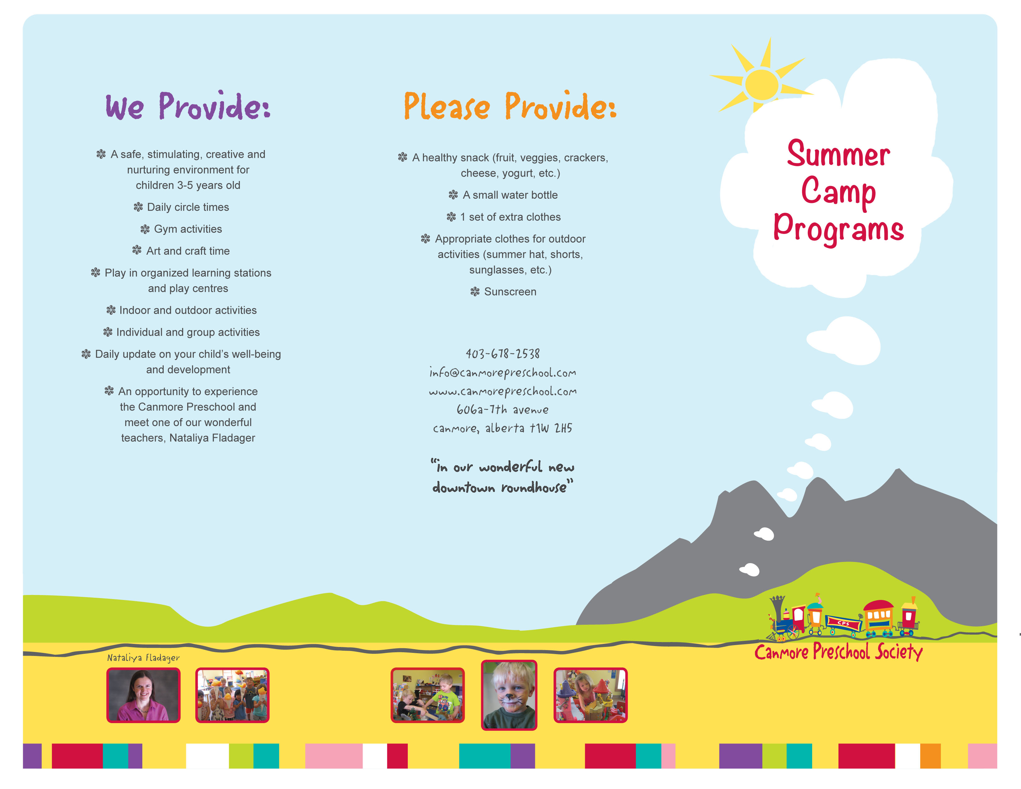 No Summer Camps Planned For 2018 Canmore Preschool