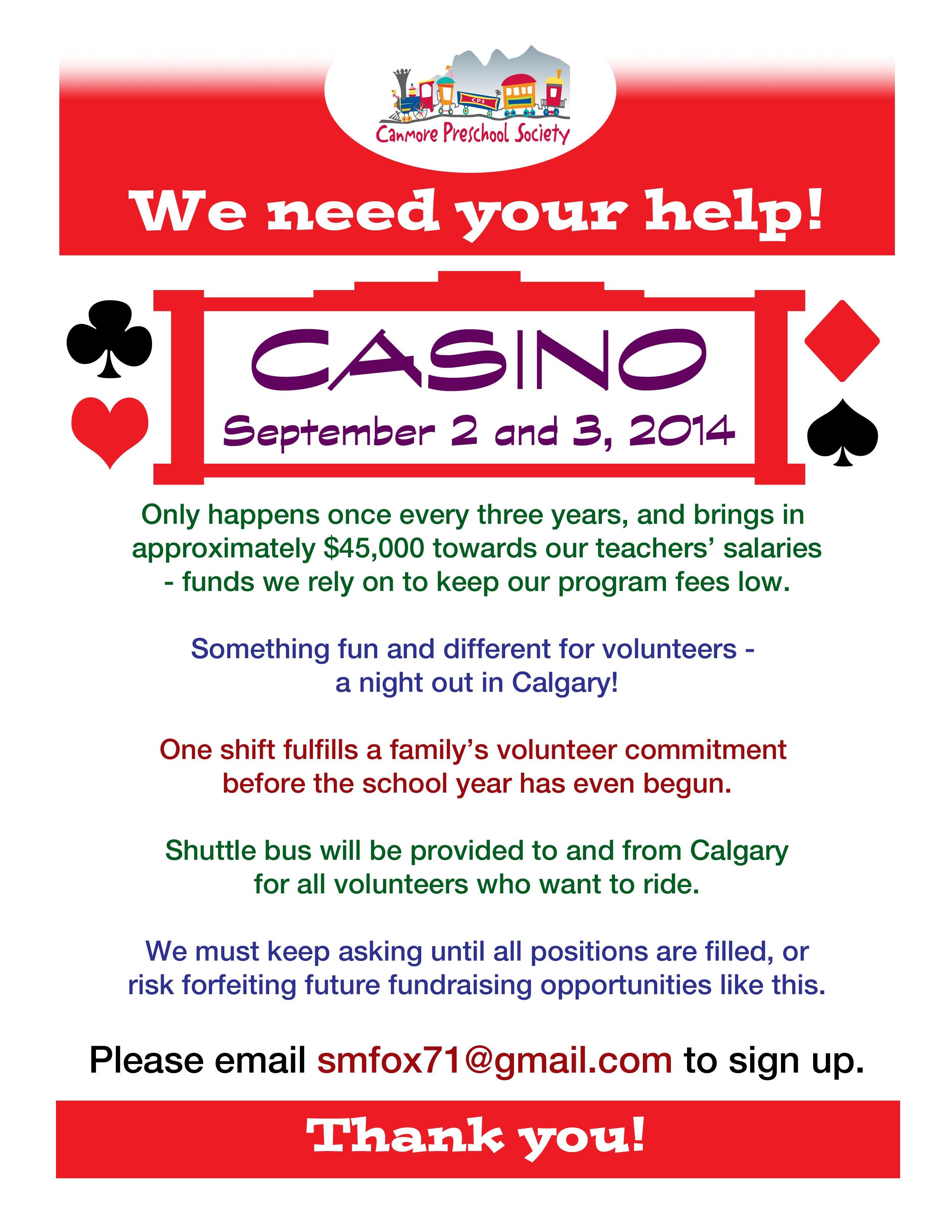 Casino in calgary volunteering worksheets gambling increases crime rate