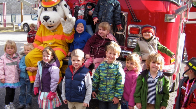 Fire Fighter Visit – October 8th