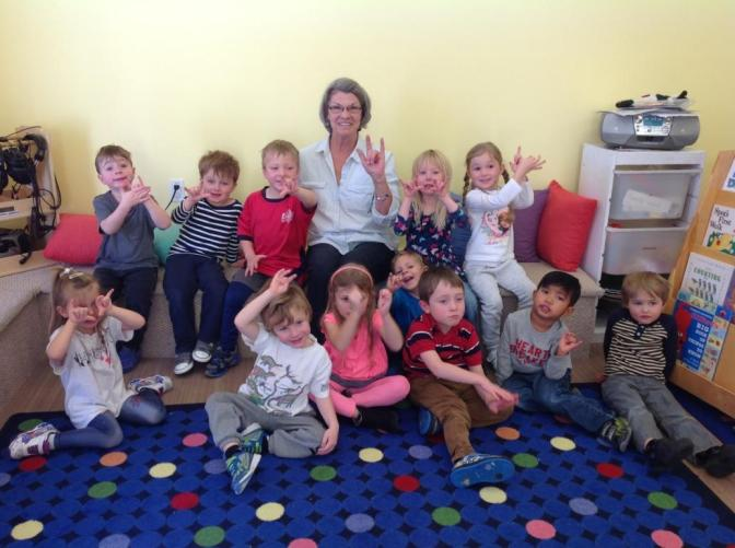 Good Luck to Ms. Nancy! She's moving on from Preschool